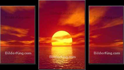 Print details - Sergey Nikolaev : red sunset