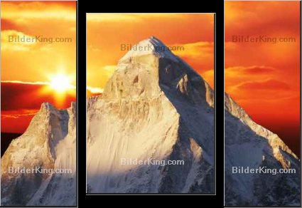 Print details - Galyna Andrushko : Sunset in Himalayan mountain
