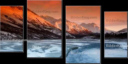 Print details - Roman Krochuk : sunset colors of the alaska range
