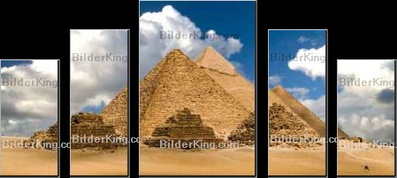 Print details - Windowseat : pyramids and clouds