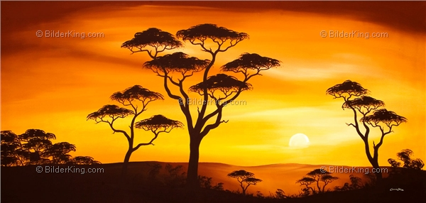 Mural - Chanel Simon : African Sunset