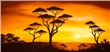 mural Chanel Simon - African Sunset