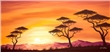 mural Chanel Simon - Sunset Africa