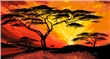 mural Mia Morro - African sunset